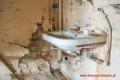 Łazienka na poddaszu - przed