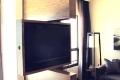 Ścianka z obracanym tv