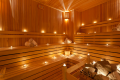sauna z lawa na trzecim poziomie